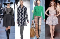 Актуальные стили осень-зима 2011-2012