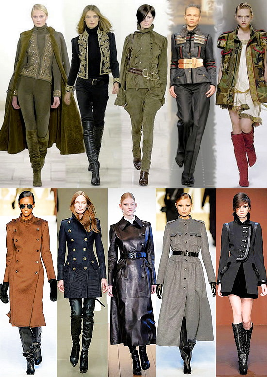 Мода 2011 милитари