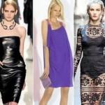 Модные платья сезона осень-зима 2011-2012