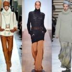 Модные женские свитера осень-зима 2011-2012