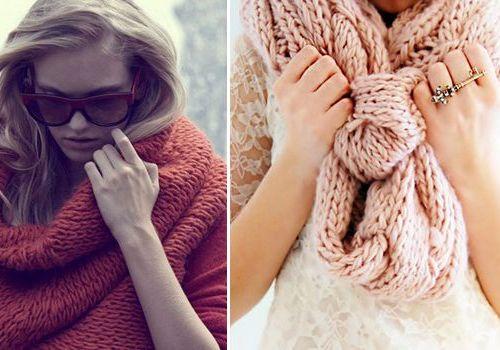 Модный шарф 2015 своими руками