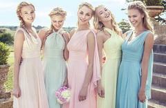 Платья пастельных цветов